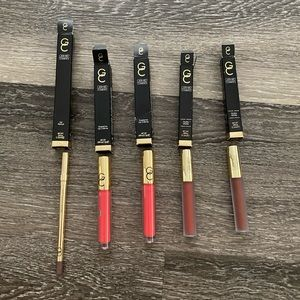 Gerard cosmetics lipsticks and lip pencil lot